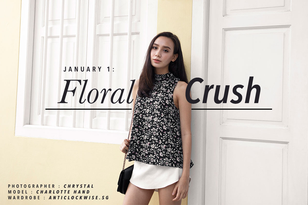 January I - Floral Crush