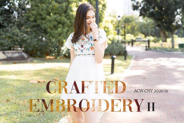 CNY IX - CRAFTED EMBROIDERY II
