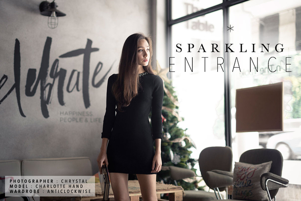 DECEMBER II - Sparkling Entrance
