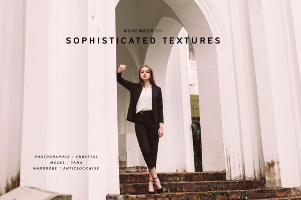 NOVEMBER III - Sophisticated Texture