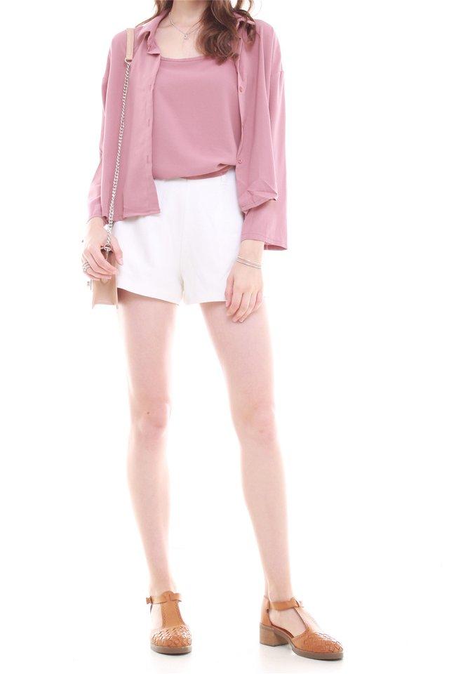 Cami Shirt Set in Mauve