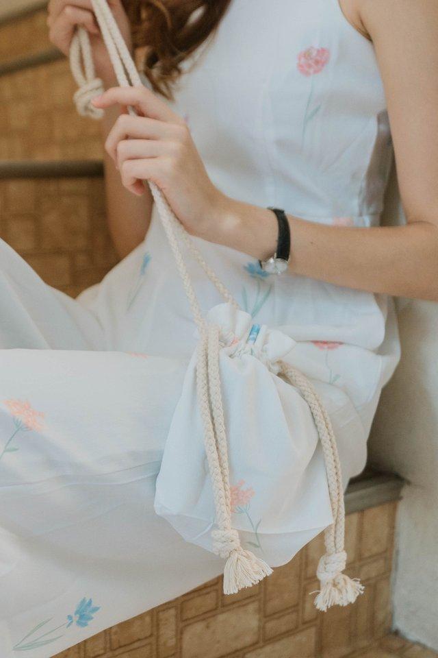 ACW Pastel Floral Drawstring Bag