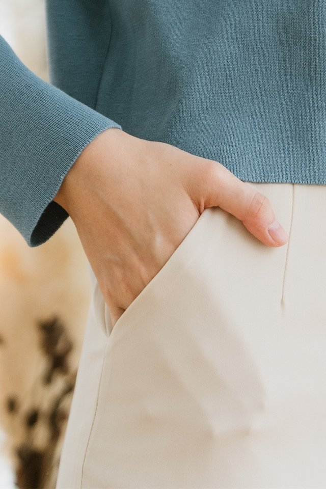 ACW Tapered Trousers in Ivory