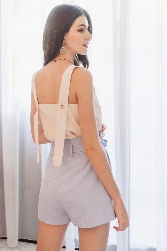 ACW Adjustable Button Swing Top in Ivory
