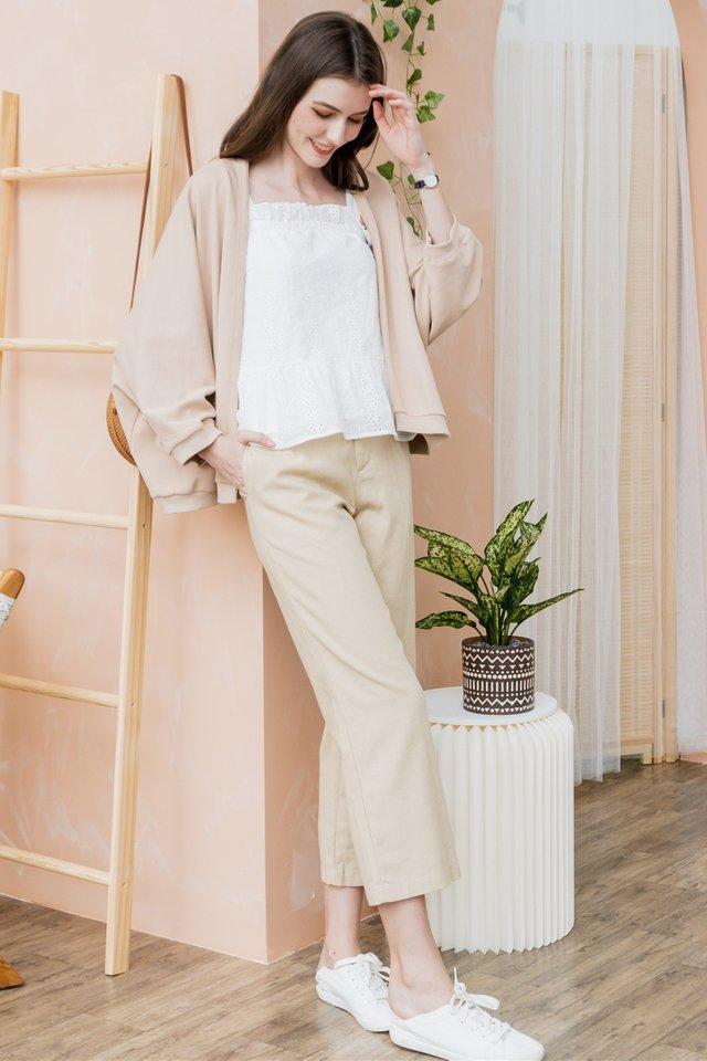 ACW Linen Pocket Trousers in Khaki